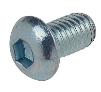 "Socket Button (0.250"") 1/4""-20 BSW x 3/4"""